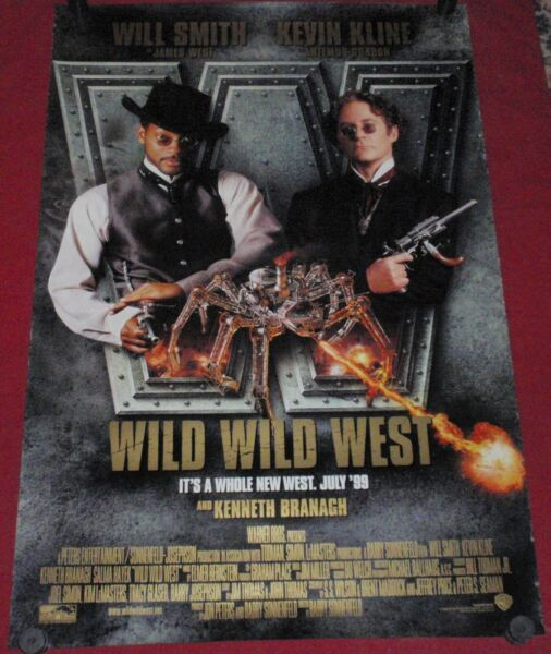 Wild Wild West Movie Poster 27 x 40 DS   Will Smith  Kevin Kline   Salma Hayek
