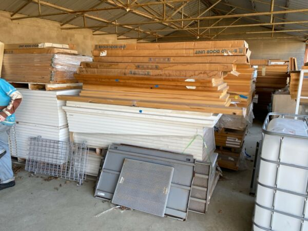 Residential door company contents for sale