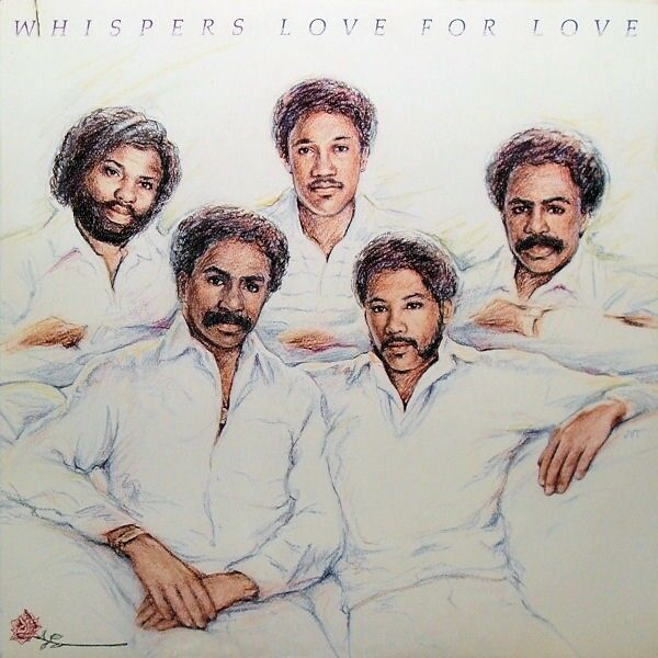 WHISPERS Love For Love (1983 US 9 Track White Label Gold Foil Stamped Promo LP)