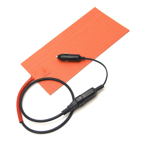 100W 152x304mm Silicone Heating Pad Heater Mat for Pizza Hot Food Delivery Bag