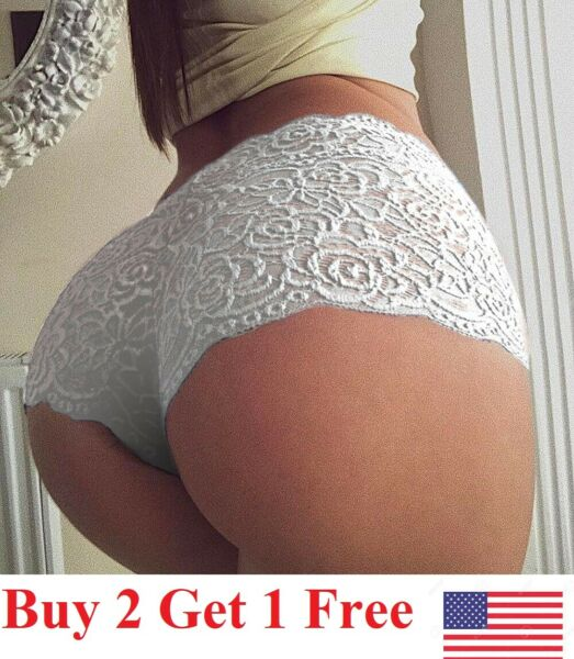 new ☆USA☆ Sexy Women Lace Thong G-string Panties Lingerie Underwear  T-back
