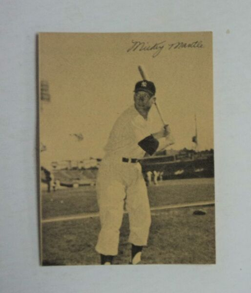 1977 Sertoma Mickey Mantle Yankees MINT - ONE TIME BLOWOUT SALE