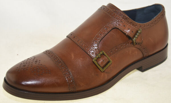 Cole Haan Men#x27;s Hamilton Grand Double Monk British Tan Style C26164 9M $31.78