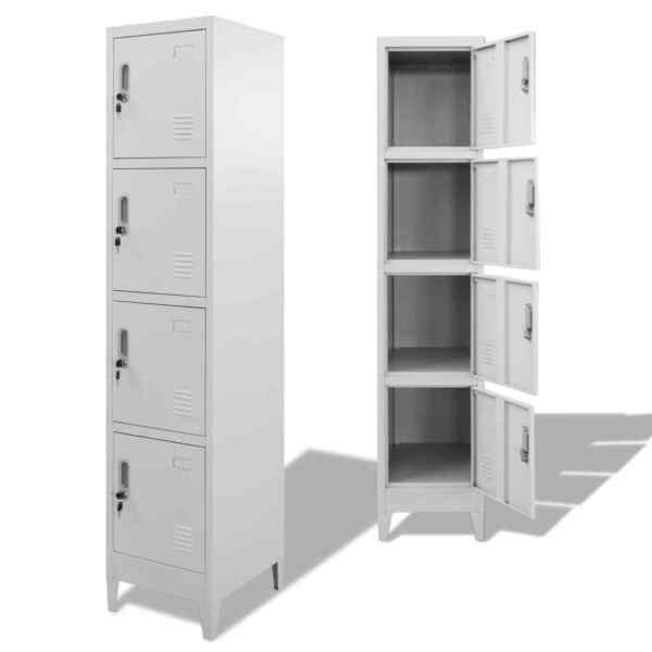 Locker Cabinet with 4 Compartments 15
