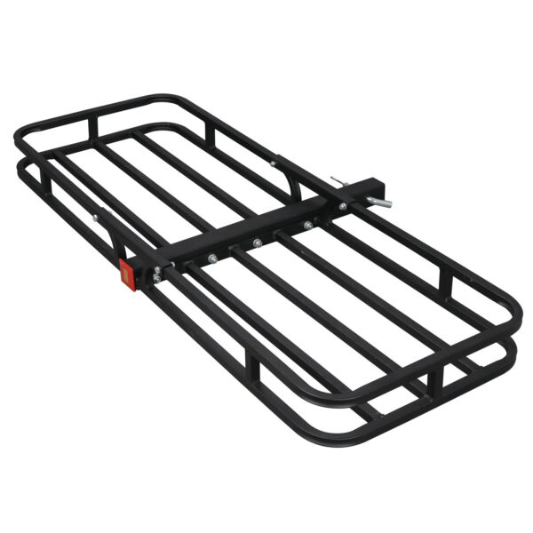 53quot;x19quot; 500lbs Mount Cargo Carrier Basket 2quot; Hitch Receiver Rack Hauler Luggage $57.99