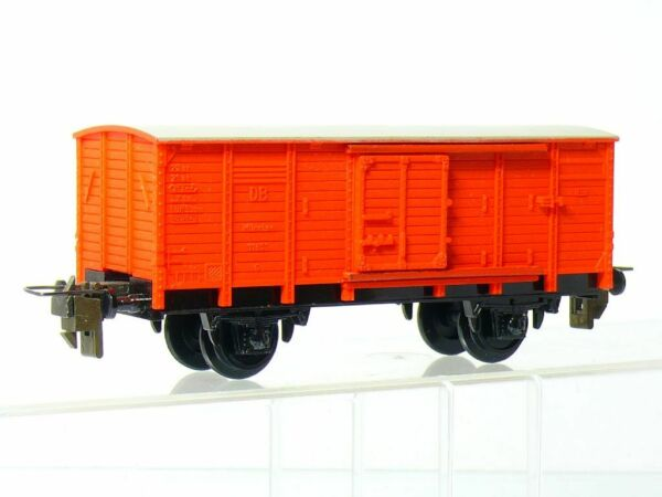 Trix Express 3409 H0 Covered Fire Fighting Vehicles G DB Red Very Good