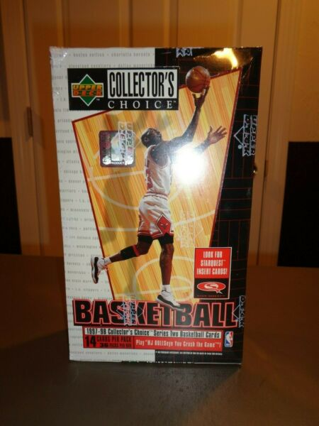 NEW NBA 1997-98 Upper Deck UD Choice Basketball Card Box Hobby Series 2 Two 1998