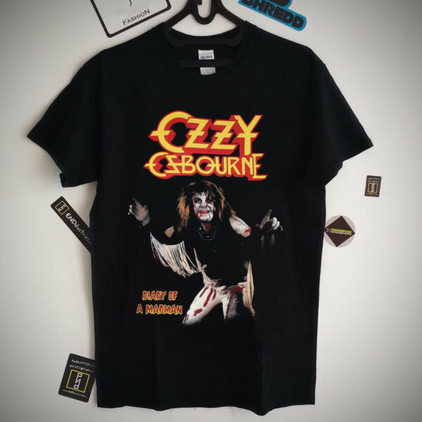 Ozzy Osbourne Diary Of A Madman vintage band tee T Shirt S XXL