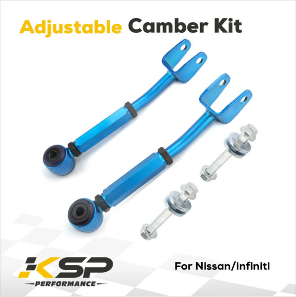 Rear Control Arm Camber Kit Adjustable Suspension Fits for Altima Infiniti G37