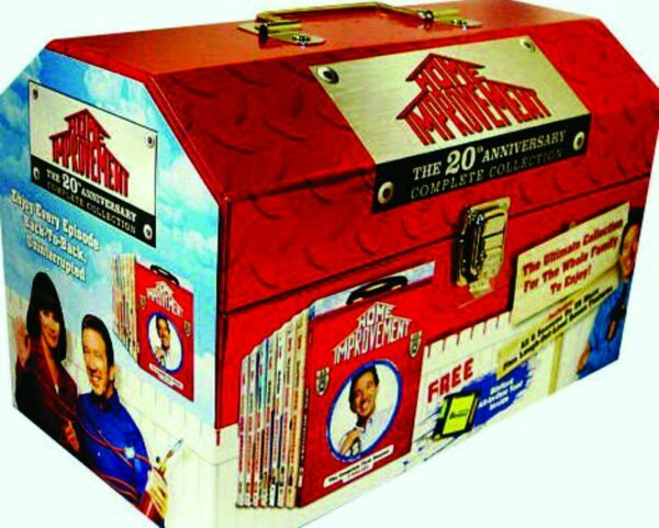 HOME IMPROVEMENT 20th Anniversary Complete SERIES 25 DISC DELUXE DVD BOX SET