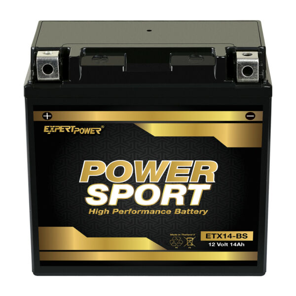YTX14 BS Replacement Battery for ATV YAMAHA YFM660R Raptor 660CC 2001 $40.99