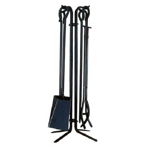 Oxford Iron 4 Piece Fireplace Tool Set - Copper Vein  SATSVPSPCV  27
