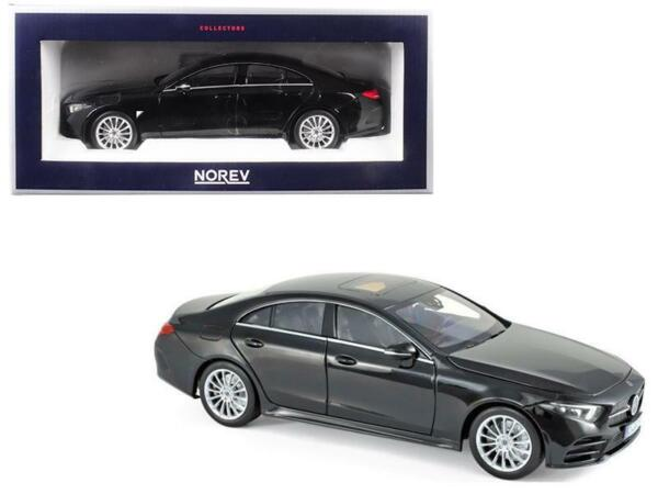 2018 Mercedes CLS Class Black 118 Diecast Model Car by Norev