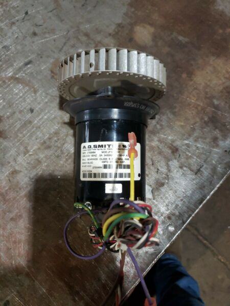 OEM A O SMITH JF1H131N DRAFT INDUCER ASSEMBLY HVAC