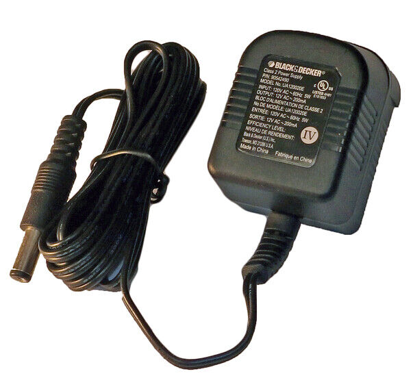 Black and Decker Genuine OEM Replacement Charger # 90542490 01