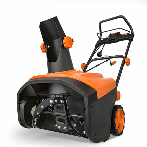 TACKLIFE Electric Snow Blower 20-Inch Clearing Width and 10-Inch Clearing Depth
