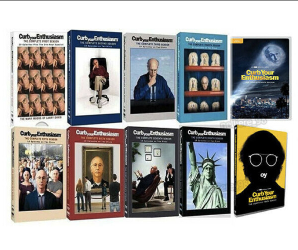 CURB YOUR ENTHUSIASM COMPLETE SERIES DVD FULL SET SEASONS 1-9