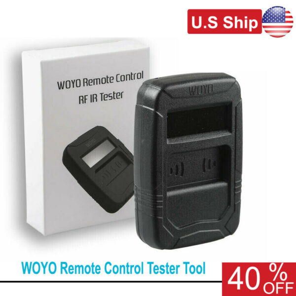 Remote Control Tester Tools Car IR Infrared Frequency Range 10-1000MHZ