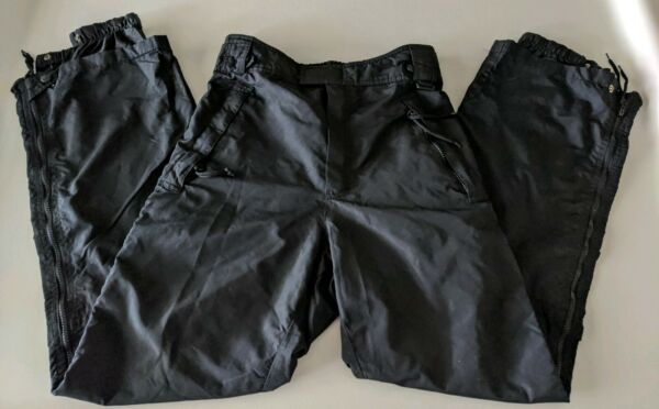 Mens Inside Edge Snow Pants Size Large Insulated Zip Pockets Ski Snow Board.