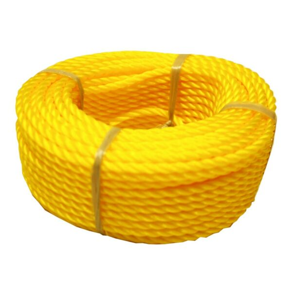 14 In. X 100 Ft. Polypropylene Twisted Orange Rope  Outdoor Camping BoatRope