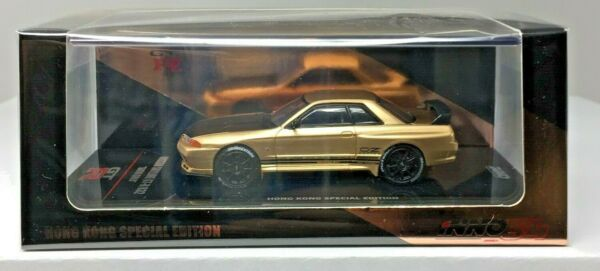 INNO64 C5 164 NISSAN SKYLINE GT-R R32 HONG KONG SPECIAL EDITION SATIN GOLD