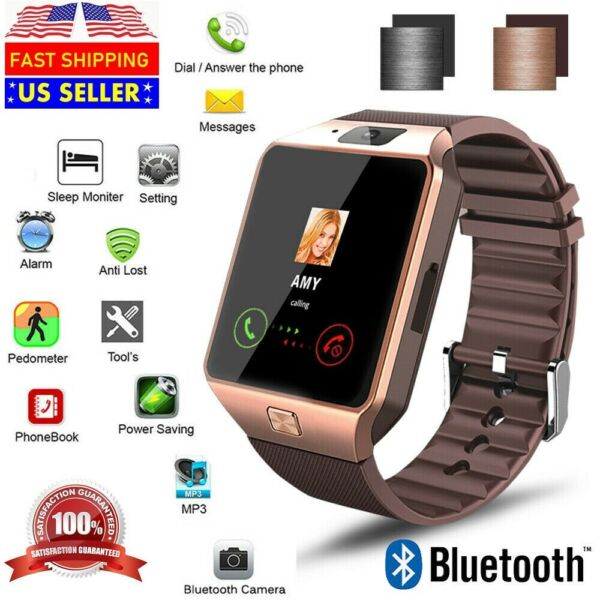 New Bluetooth Smart Watch amp; Phone with Camera For iPhone Samsung LG HTC Google $19.95