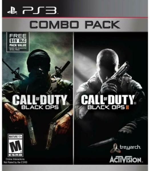 Call of Duty: Black Ops 1 & 2 Combo Pack Playstation 3 (PS3) Brand New