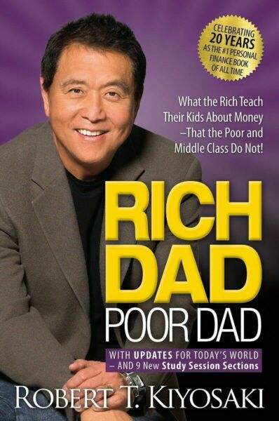 Rich Dad Poor Dad: What the Rich Teach Their Kids MASS MARKET PAPERBACK