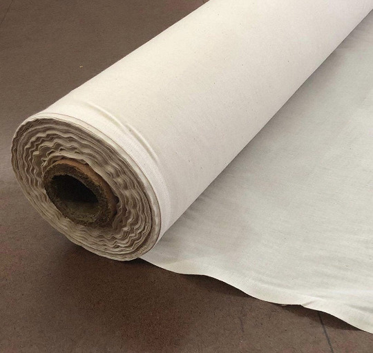 Natural 100% Cotton Muslin Fabric Textile Unbleached Draping Fabric by the yard