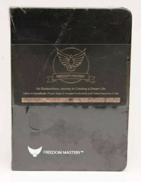 Law of Attraction Freedom Mastery - Non Dated Daily Planner - Sealed