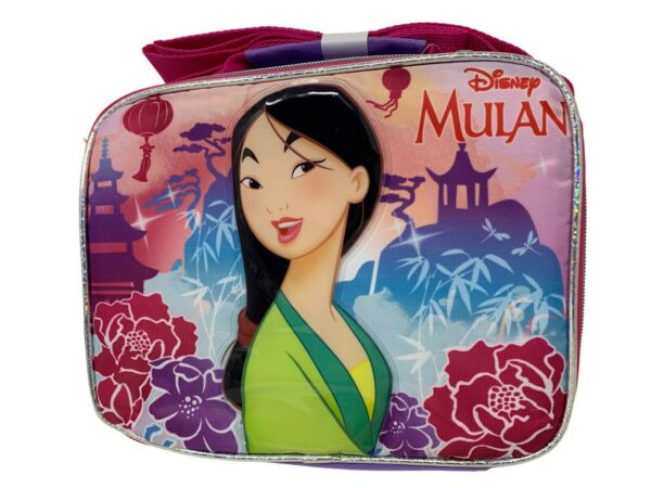 Disney Princess - Mulan Insulated Lunch Box With Adjustable Shoulder Straps