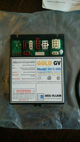 Gold GV Model 1013 200 Integrated Boiler Control Weil McLain $370.00