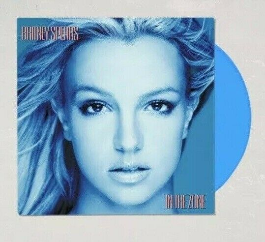 SEALED Blue & Icey Swirl Vinyl Limited In The Zone Britney Spears NEW Toxic LP