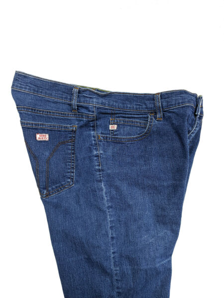 Miss Sixty Womens Mid Low Tommy Blue Jeans Flare Slub Size Italy 32 USA 6 $29.94