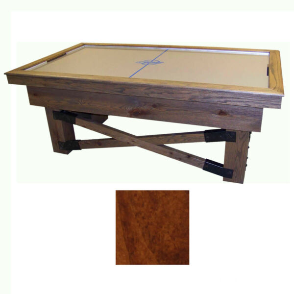 Capri Maple Dynamo Rustic Air Hockey Table