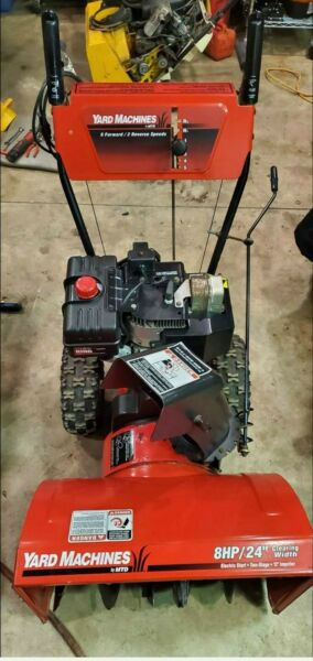 MTD 824 Two Stage Snow Blower With Electric Start Option