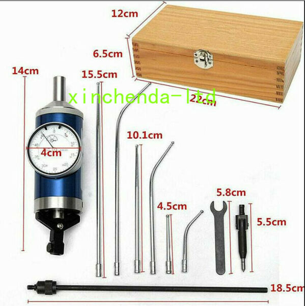 Coaxial Centering Indicator Co Ax Precision Milling Machine Test Dial or Stylus $96.29