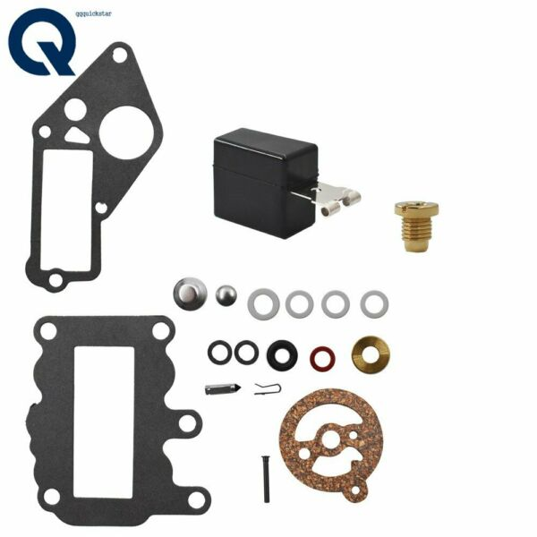 New Carburetor Carb Kit For Johnson Evinrude Outboard 9.5 BRP OMC Rebuild HOT $9.96