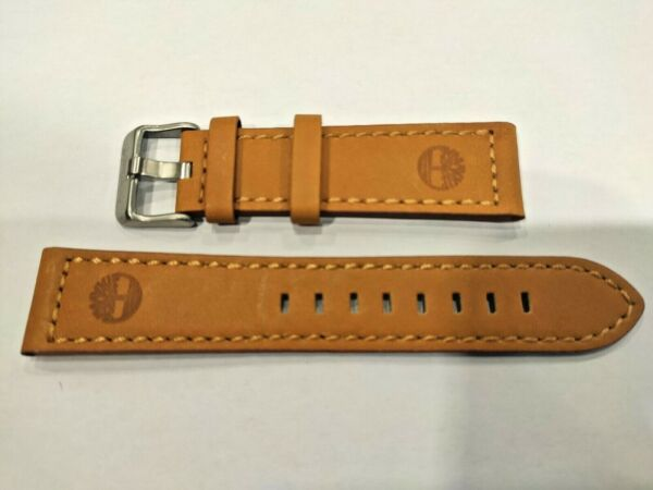 Watch Strap Band TIMBERLAND BLAKE TBL14645JS07 Orange Original 22mm $55.00