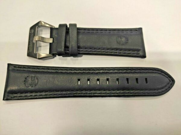 Watch Strap Band TIMBERLAND BENNINGTON TBL13901XSBU61 Black 26mm Original $55.00