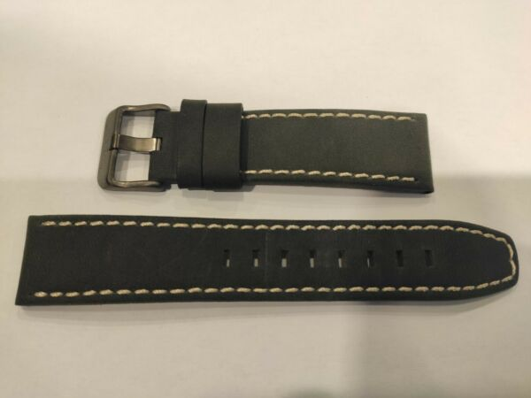 Watch Strap Band TIMBERLAND MATTISON TBL15353JSU02 Black 22MM Original $55.00