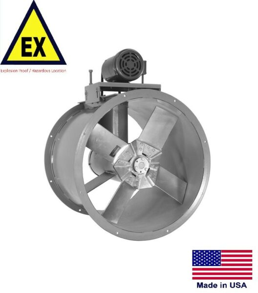 TUBE AXIAL DUCT FAN - Explosion Proof - 48