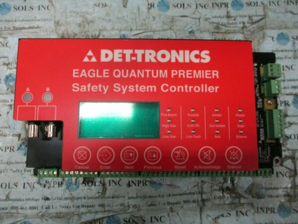 DET-TRONICS EQ3005PCNT Eagle Quantum Safety System Controller 18-30VDC *Tested*