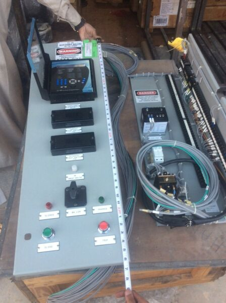 pre wired back GE SR745-CAS control panel FC-A5 FOR BUILDING 72-TX-17001