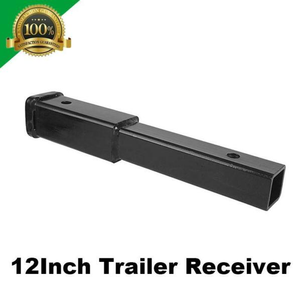 12quot; Trailer Hitch Extension Receiver 2quot; Extender 5 8quot; Pin Hole 4000 LBS Towing $28.99