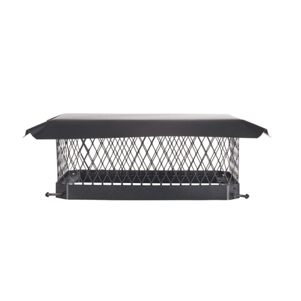 Chimney Cap Cover Mesh Fireplace Accessory Caps Galvanized Steel Hood 13quot; x 18quot;