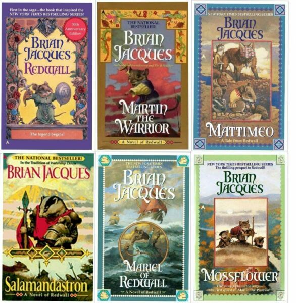 Brian Jacques Redwall Series 1 6