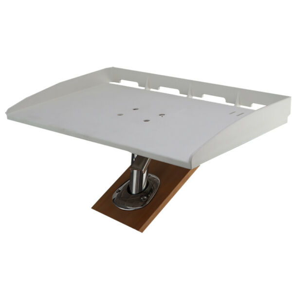 Sea Dog 20quot; Fishing Rod Holder Gimbal Mount Fillet Table Cut Bait Clean Fish $129.99