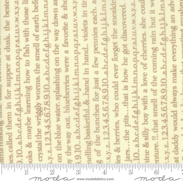Ella amp; Ollie Cobblestone Text by Fig Tree Collection Sld By 1 2 Yard