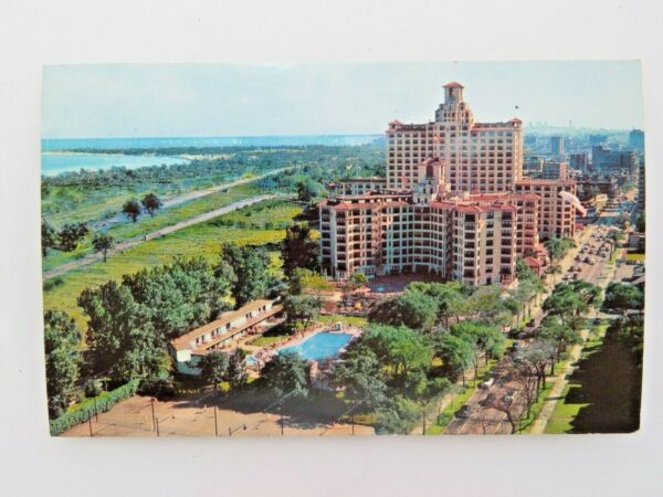Vintage Postcard Edgewater Beach Hotel Chicago IL A2458